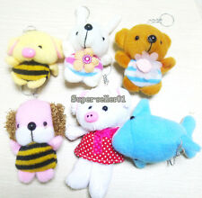 1Pcs Grab Bear Pig Dog Plush Doll Ornaments Figurines Wedding Gifts Stuffed Toys