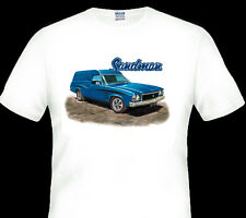 HOLDEN  HJ  SANDMAN PANELVAN    WHITE  TSHIRT  MEN'S  LADIES   KID'S  SIZES