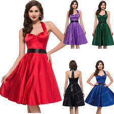 Mother of the Bride /Groom 50s Vintage Style Rockabilly Prom Housewife Tea Dress