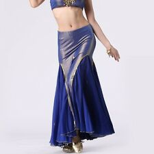 SK11# Belly Dance Costume Long Fishtail Skirt 9 Colors
