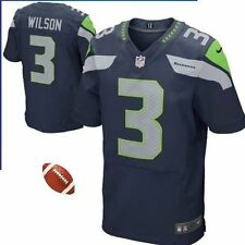 NFL Nike Russell Wilson Seattle Seahawk Elite Jersey!! Variety of Sizes:M,L,XL