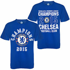 Chelsea FC Official Football Gift Boys Kids Champions 2015 T-Shirt (RRP £14.99!)