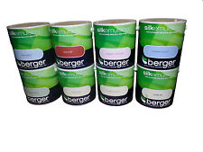 Berger Silk Emulsion - Choose From 24 Colours - Walls & Ceilings Paints 2.5L