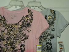 Petite Sizes 2-12 XS- Medium Pullover Top Sequins Baroque Style &Co NEW$38