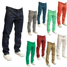 NEW MEN WT-02 COLOR TWILL SPAN PANTS SKINNY JEANS 9091-3311 9 DIFFERENT COLORS