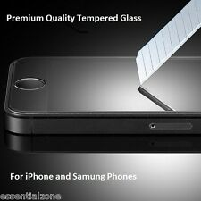 Genuine Premium Tempered Glass Screen Protector Scratch Guard For iPhone Samsung