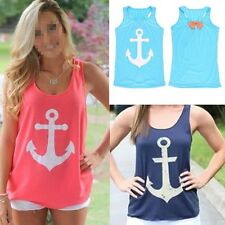 Fashion Women Summer Bow Vest Top Sleeveless Blouse Casual Tank Tops T-Shirt