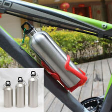 New Bike Cycling Hiking Kettle Stainless Steel Sports Drink Water Bottle Cup