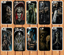 Grim Reaper Skull Skeleton for iPhone And Samsung Galaxy Case Cover