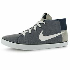 Nike Match High Top Mens Shoes Trainers Navy/Wht/Blk Sneakers Sports Footwear