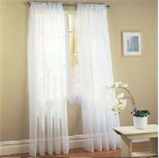 Scarf Valances Colors Floral Tulle Voile Door Window Curtain Drape Panel Sheer