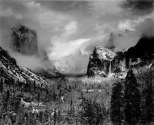 ANSEL ADAMS - Clearing Winter Storm, Yosemite Valley, CA 1942 Or Earliier