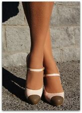 Trasparenze Ambra Luxury Nude, Blue or Black Fishnet Tights, Net Pantyhose