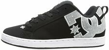 DC Shoes Court Graffik SE Womens Skate Suede Leather Shoe Black Armor US Sizes
