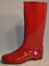 Sweet! Women's Red Rain Boots -  SIZES  6-11