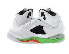 "Youth (PS) Air Jordan 5 Retro ""Space Jam"" White/Black-Poison Green 440889-115"