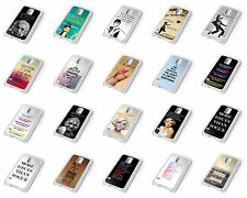 Famous Quotes iPhone 4 5 6 Plus Galaxy S3 S4 S5 White Phone Case Cover