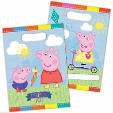 PEPPA PIG & GEORGE PARTY BAGS KIDS BOYS GIRLS BIRTHDAY UK SELLER FREE DELIVERY