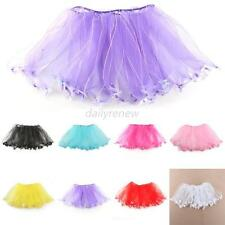 2-7Y Princess Girl Kid Tutu Skirt Baby Party Ballet Dancewear Dress Pettiskirt
