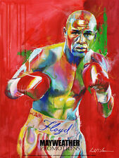FLOYD MAYWEATHER *SLONE ART POSTER - HAT - T SHIRT* COMBO PACKAGE