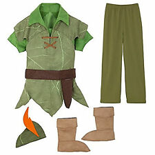 NEW NWT DISNEY STORE PETER PAN PIRATE COSTUME SIZE 2/3, 4, 5/6 or 7/8