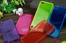Crystal Clear Silicon Jelly Soft TPU Gel Case Skin Cover for Apple iPod Touch 5