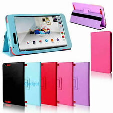 "Premium PU Leather Smart Folio Stand Case Cover for TESCO HUDL 2 8.3"" Tablet"