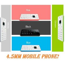2015 Ultra Thin Basic Locate Mobile Phone - AIEK M5 Card Mobile Phone New