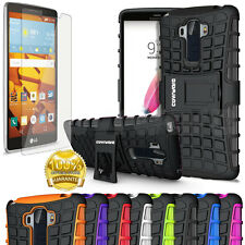 COVRWARE®, LG G Stylo (LS770) Terrapin case with kickstand and Screen Protector
