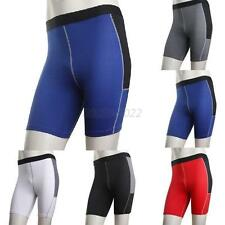 Mens Stretchy Compression Under Base Layer Sport Running Shorts Tights Pants Hot