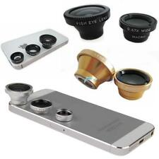 3 in 1 Fish Eye + Wide Angle + Macro Lens Camera Magnetic Kit for phone DHC