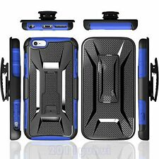 NEW SHOCKPROOF HEAVY DUTY ARMOR CASE COVER+BELT CLIP HOLSTER FOR IPHONE/SAMSUNG