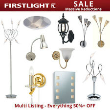 Firstlight Lighting Sale Ceiling Fittings, Wall Lights, Outdoor Lights & Mirrors
