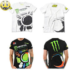 T-Shirt  Monster 46 VALENTINO ROSSI M1 yamaha Moto GP Rally  Official Team MAGLA