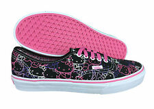 VANS. Authentic. Hello Kitty. Black / Pink. Unisex Shoe. Mens US Size 9, 9,5.