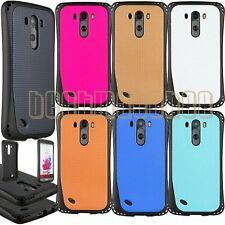 for LG G3 rugged rubber silicone heavy duty shook proof cover guard case