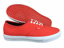 VANS. Authentic. Rain Buck. High Risk Red. Cord Laces. Mens US Size 10.5
