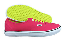 VANS. Authentic. Virtual Pink. Fluro Lace. Womens Casual Shoe. Mens US Size 9.5