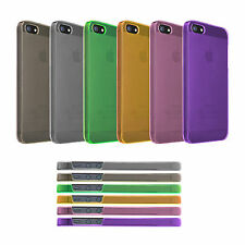 iPhone 5 5 S Cases Smart Phone Covers transparent soft TPU Skin Soft Cover