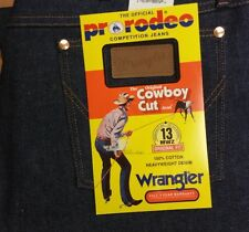 Mens Wrangler Original Cowboy Cut RIGID 13MWZ NWT