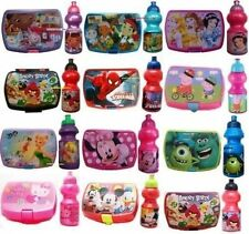 Kids Lunchboxes & Water Bottle-PEPPA PIG, Avengers, Sofia The First, congelati, MINNIE