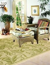 Indoor / Outdoor Flatweave Contemporary Patio and Picnic Rugs