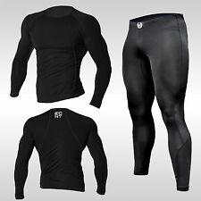 ECHT Compression Top + Pants, BASE LAYER, SKINS, LEGGINGS, GYM, SHIRT, TRAINING