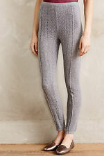 NWT $118 Anthropologie Cabled Sweaterknit Leggings by Sleeping on Snow S or M