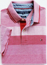 New Men's Tommy Hilfiger Short Sleeve Striped Polo Size: M, L