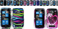 Snap-on Hard Case Cover For Nokia Sabre / Lumia 710 Phone
