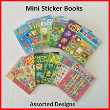 Children Mini Stickers Books Toys Girls Boys Party Craft Art Assorted Design (C)