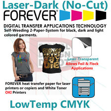 Heat Transfer Paper Forever For Laser Printer and Dark and Light T Shirts