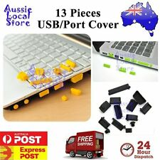 Protective USB Data Ports Cover Anti-Dust Plug Stopper for Laptop Notebook
