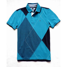 New Tommy Hilfiger Men's Argyle Short Sleeve Polo Size: S, M
